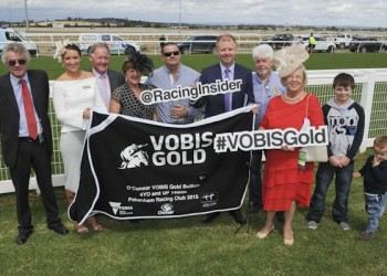 VOBIS Gold Bullion race presentation (including Burning Front principal owner Justin Lovatt and TBV Committee Members James O'Brien and Rosemary Inglis)