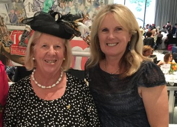 Outgoing TBV Committee members Rosemary Inglis & Christine Mills