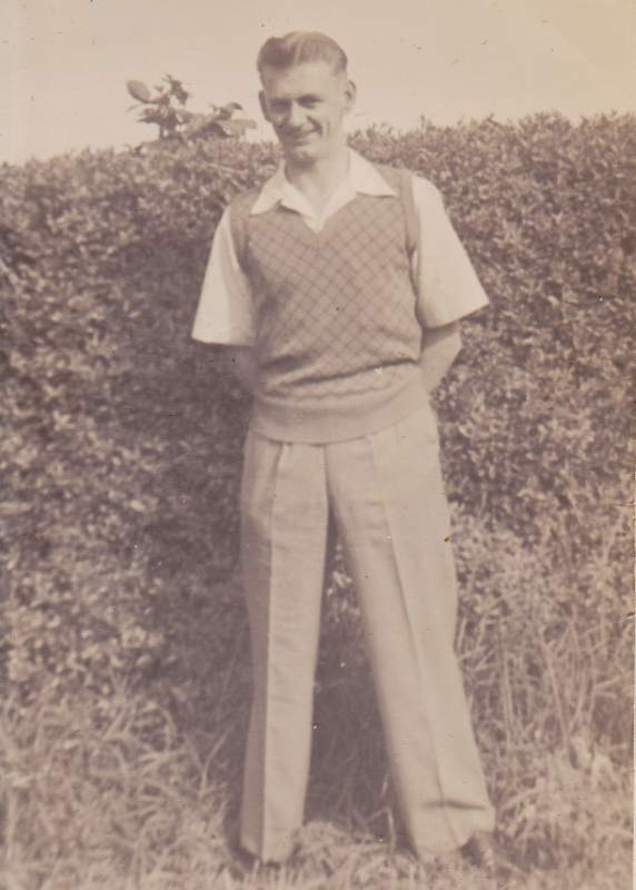 Keith Inglis in his younger days