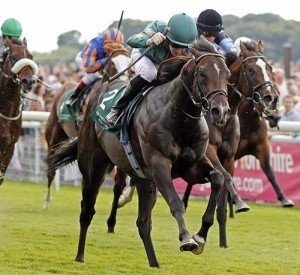 Ajaya wins the Group 2 Gimcrack Stakes at York