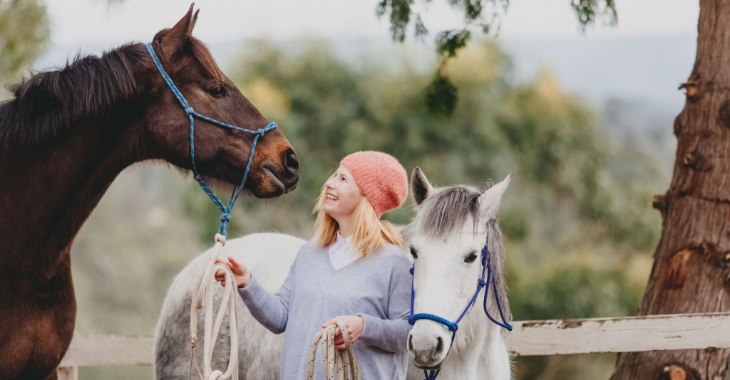 Jessica Liston was always destined to have horses play such a big part in her life (www.innerrhythm.com.au)